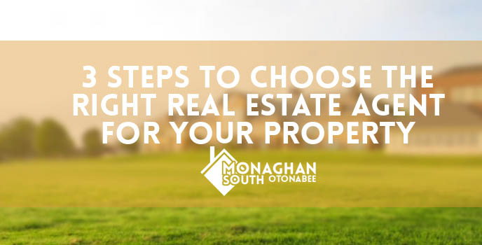 3 steps to choose the right real estate agent for your property